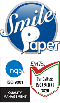 Smile paper logó