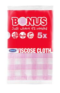 Bonus viszkóz mosogatókendő 5 db-os