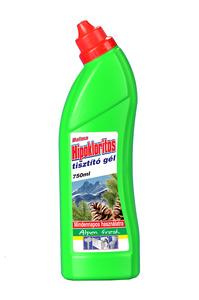 Dalma hipokloritos tisztító gél, 750 ml, Alpen fresh