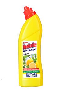 Dalma hipokloritos tisztító gél, 750 ml, Lemon fresh