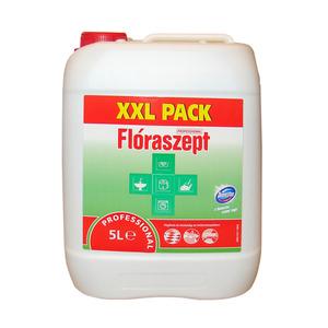 Flóraszept Professional fertőtlenítő hatású folyékony tisztítószer, 5 liter
