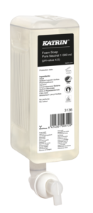 Katrin habszappan ''Pure Neutral Foam Soap'', 1000 ml, 6 db/karton