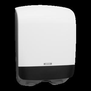 Katrin mini kéztörlőadagoló hajtogatott kéztörlőhöz, fehér (Katrin Inclusive Hand Towel Mini Dispenser), 90182