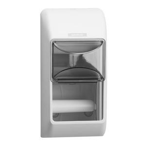 Katrin kistekercses toalettpapír (wc papír) adagoló, fehér (Katrin Toilet 2-Roll Dispenser), 92384