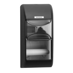 Katrin kistekercses toalettpapír (wc papír) adagoló, fekete (Katrin Toilet 2-Roll Dispenser), 92384