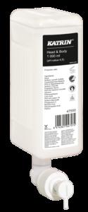Katrin New Head & Body Shower Gel, tusfürdő és sampon 1000 ml, 6 db/karton, 47550
