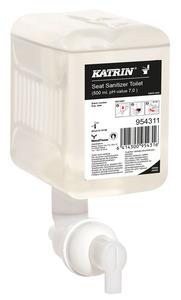 Katrin WC ülőke fertőtlenítő hab, 500 ml, 12 db/karton (Katrin Toilet Seat Sanitizer), 954311