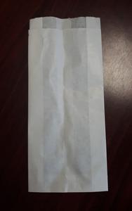 Smile higiéniai papírzacskó, 1 rétegű, fehér, 25x11cm, 100 db/csomag, 24 csomag/karton